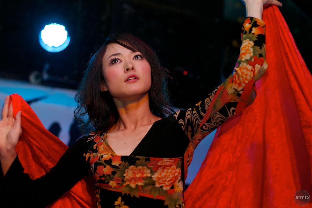 Kaori from Kao=S, SXSW Japan Nite 2012 - Austin, Texas