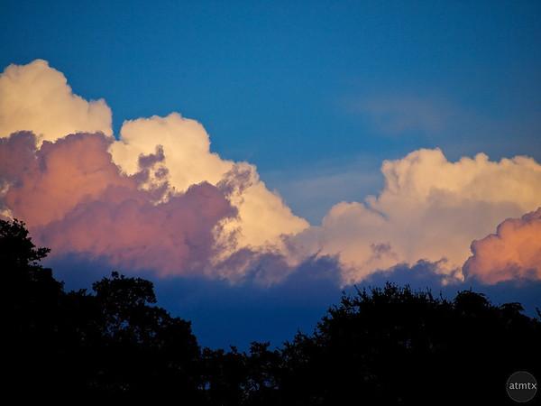 Abstract SoCo Clouds #1 - Austin, Texas