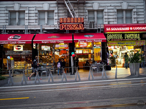 Tourist Stores - San Francisco, California
