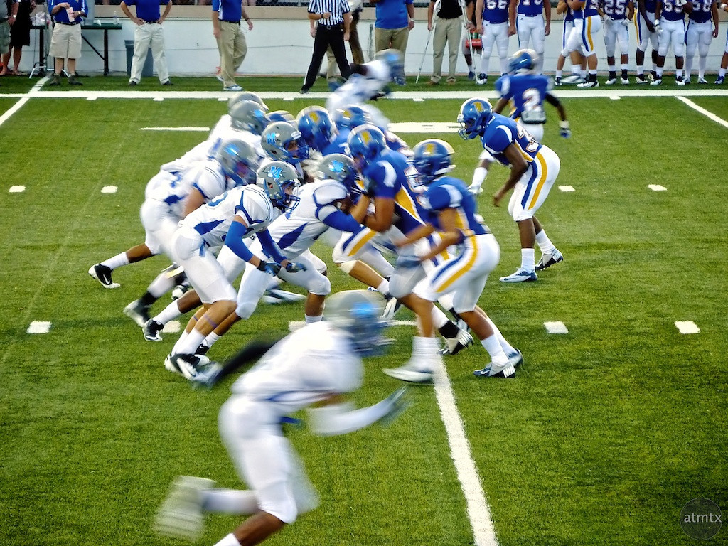 McCallum vs. Anderson, House Park Stadium - Austin, Texas