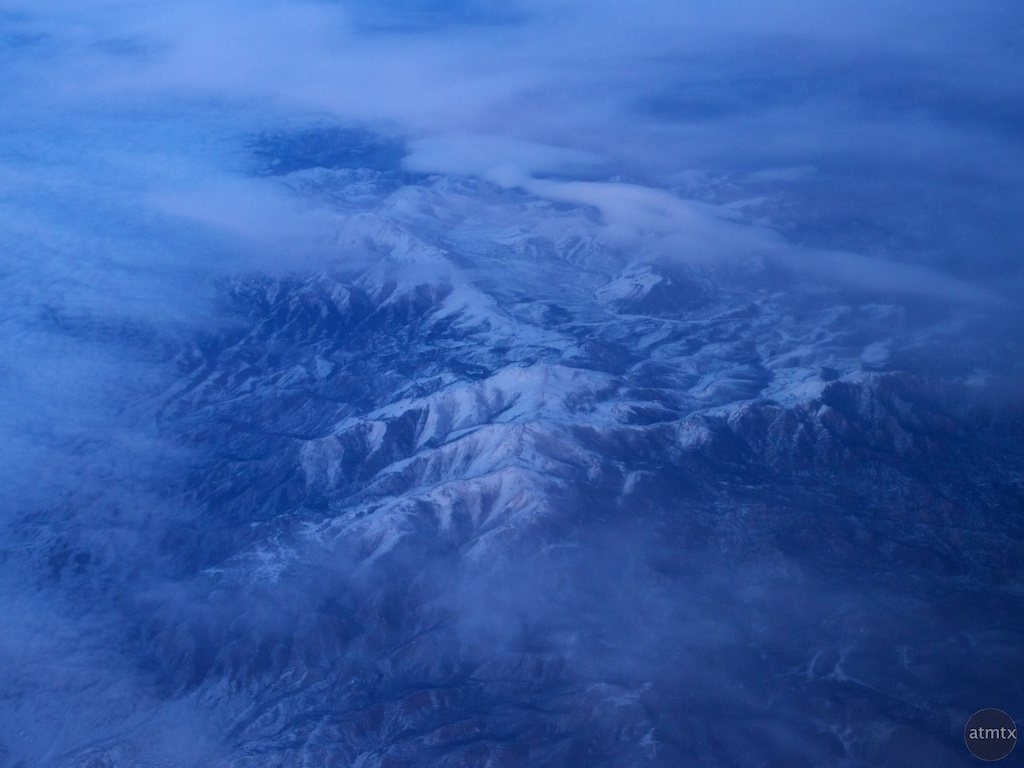 Cold Rockies - Somewhere over the Western United States