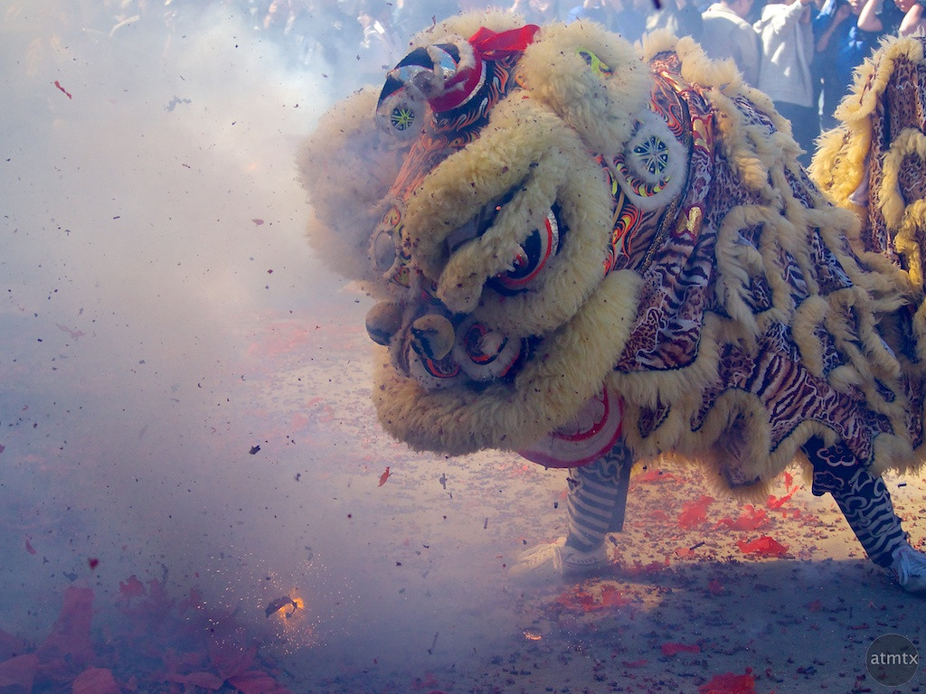 Lion Dance #2, 2013 Chinese New Year Celebration - Austin, Texas