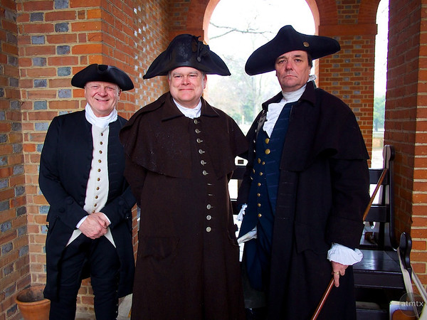 In Costume, Virginia Capitol - Williamsburg, Virginia