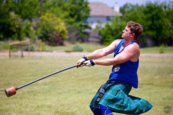 22 pound Hammer #2, Highland Games - Pflugerville, Texas