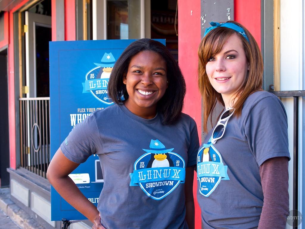 Lauren and Nicole for TrueAbility, SXSW Interactive - Austin, Texas