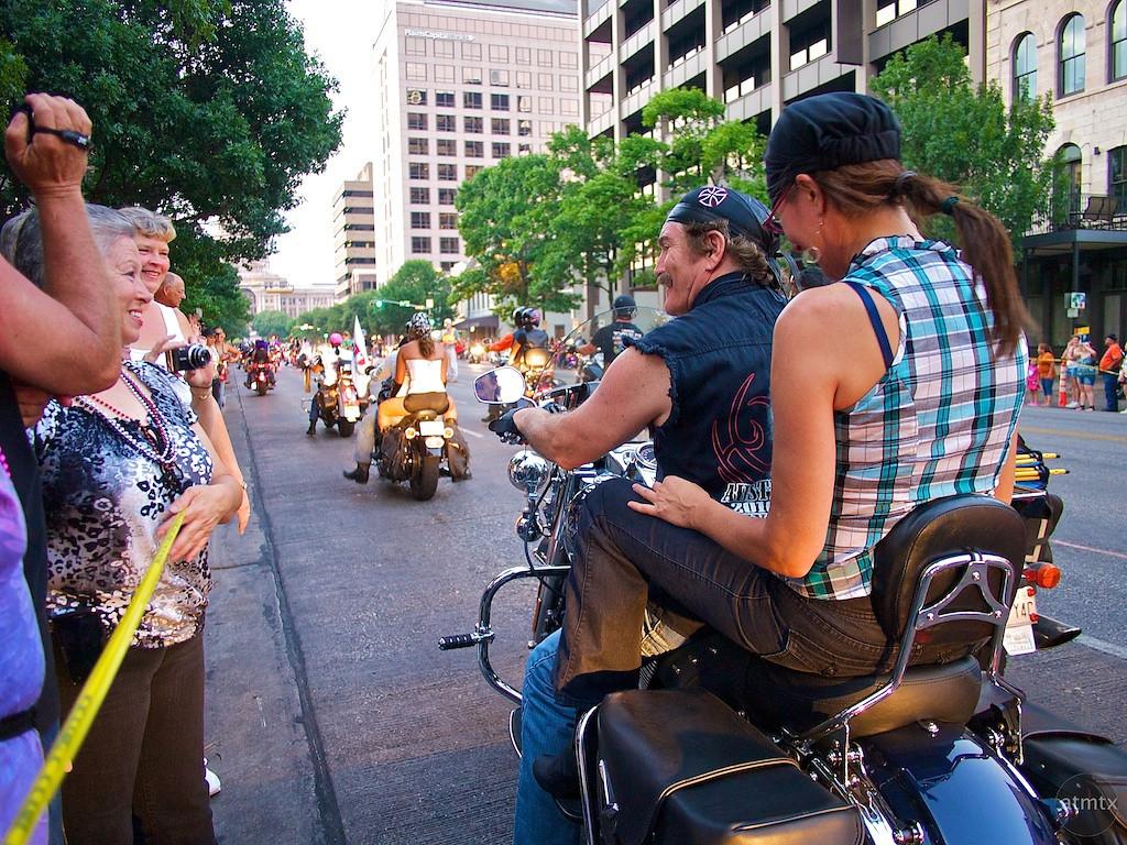Greeting, ROT Rally Parade - Austin, Texas