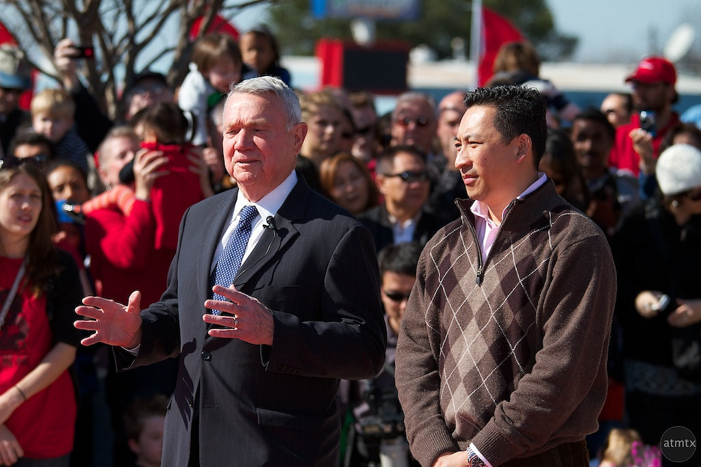 Mayor Lee Leffingwell, 2012 Chinese New Year Celebration