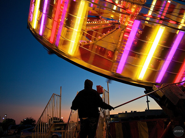 Spin Control, Parking Lot Carnival - Round Rock, Texas