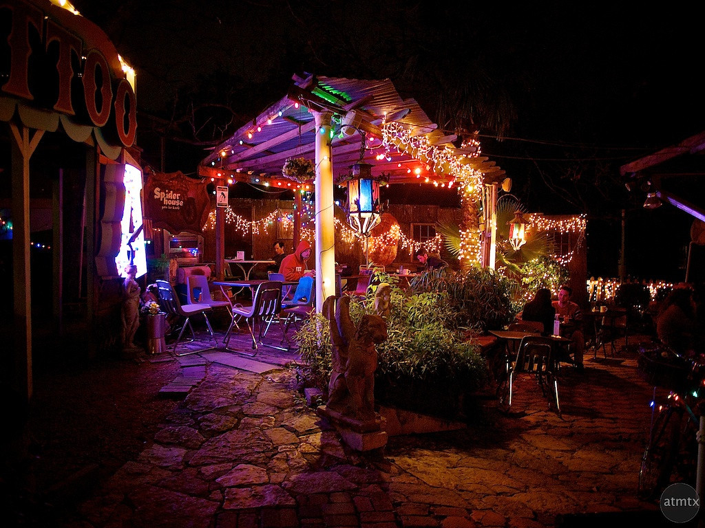 Crazy Lights, Spider House - Austin, Texas