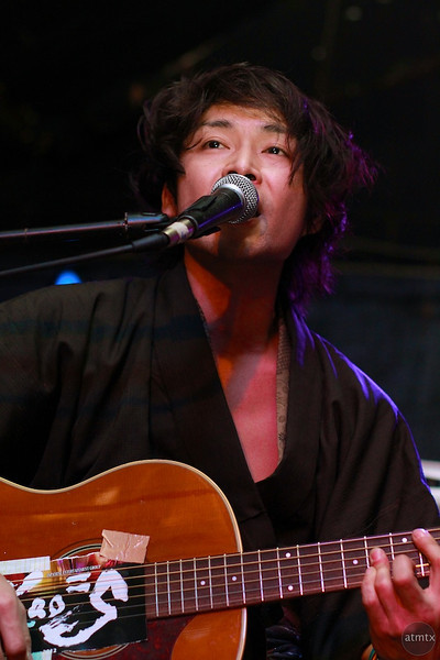 Shuji from Kao=S, SXSW Japan Nite 2012