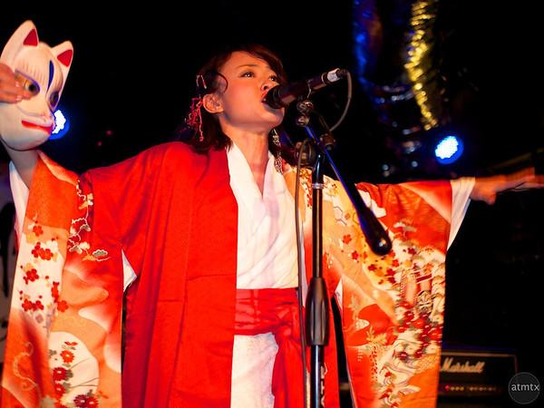 Kaori performs and sings in Kao=S, SXSW Japan Nite - Austin, Texas