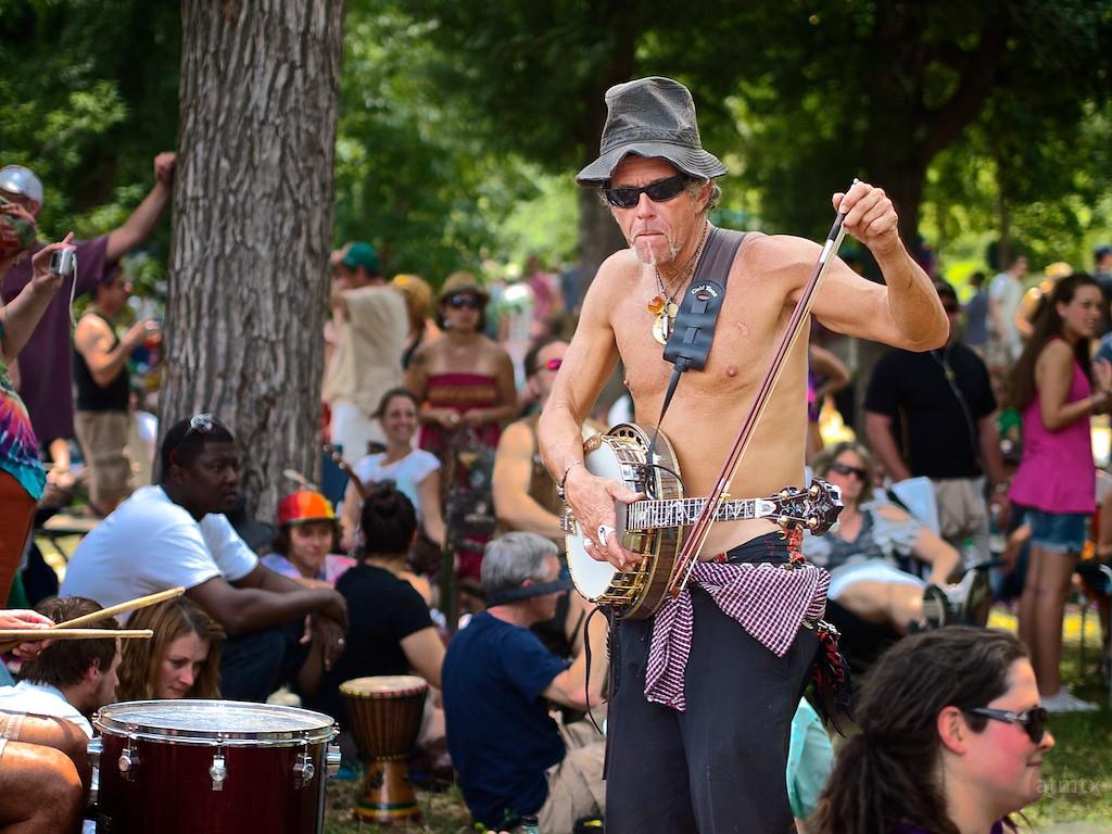 Banjo Fiddle, Eeyore's Birthday Party - Austin, Texas