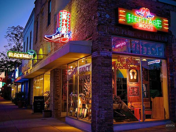 Heritage Boot, South Congress - Austin, Texas
