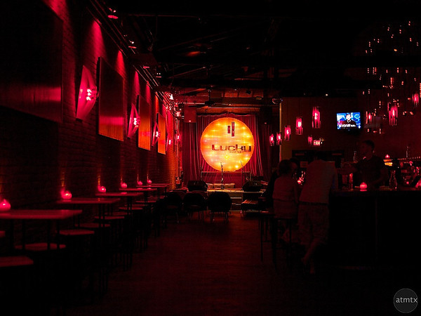 Lucky Lounge Interior - Austin, Texas