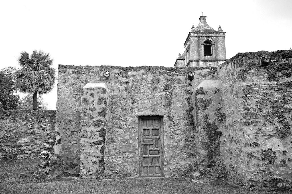 Side View of Mission Concepcion