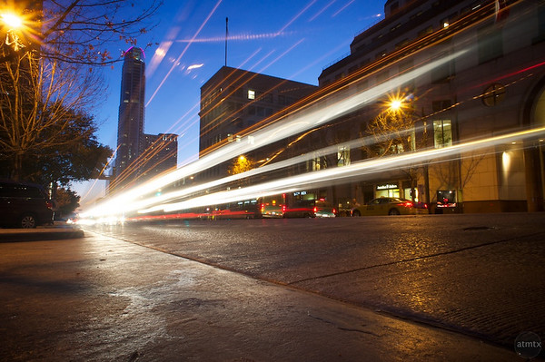 Congress Avenue Light Streaks (original(