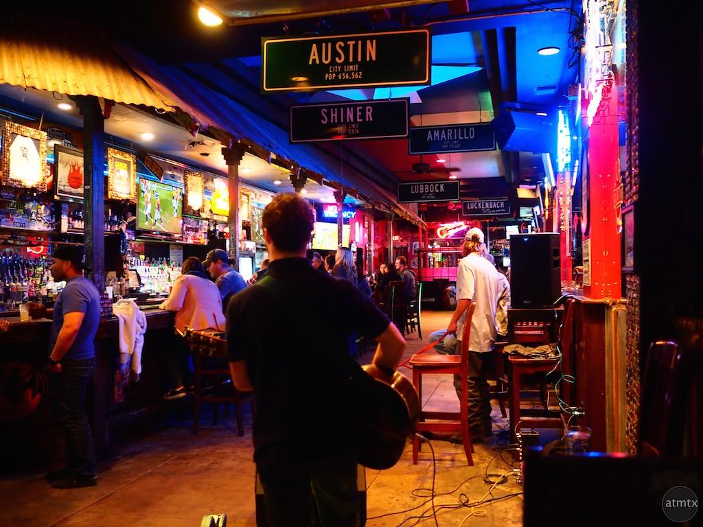 On Stage Alone #2, 6th Street - Austin, Texas