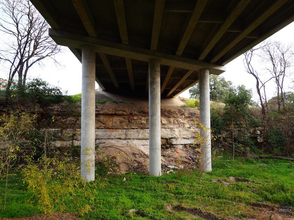 Overpass among Green - Austin, Texas