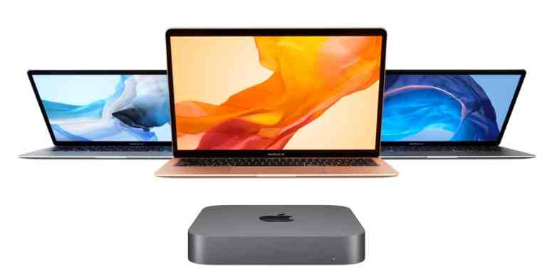 Nouveaux MacBook Air et Mac Mini
