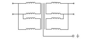 5 kVA Isolation Transformer, single phase, 400V to 208V