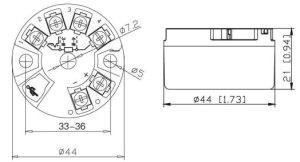 Smart Temperature Transmitter, RTDThermocoupleResistance