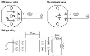 Temperature Transmitter, PT100EKSBTJNR Type | ATO