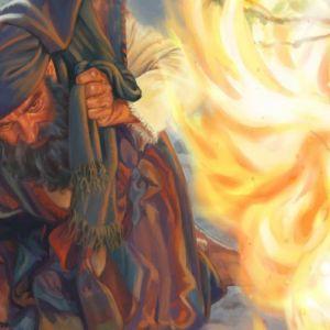 Dios Manifestandose a Moises