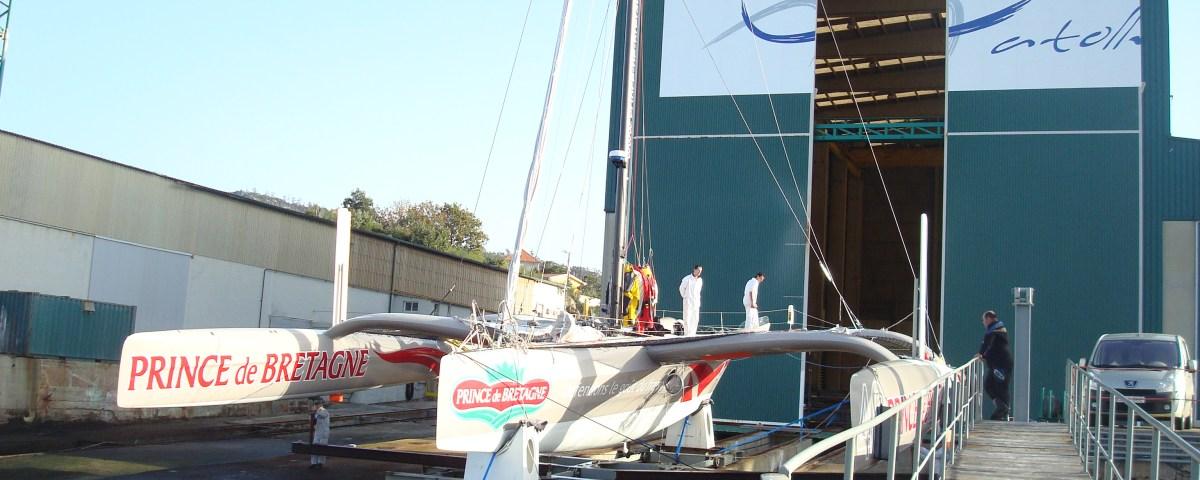 Catamaran Spliway Shed