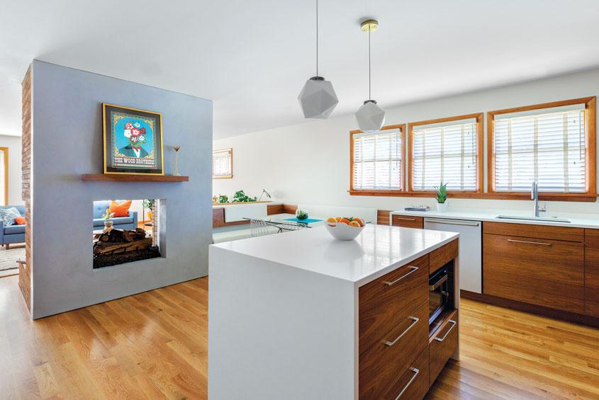 A Portland Split Level Gets Carefully Updated Home