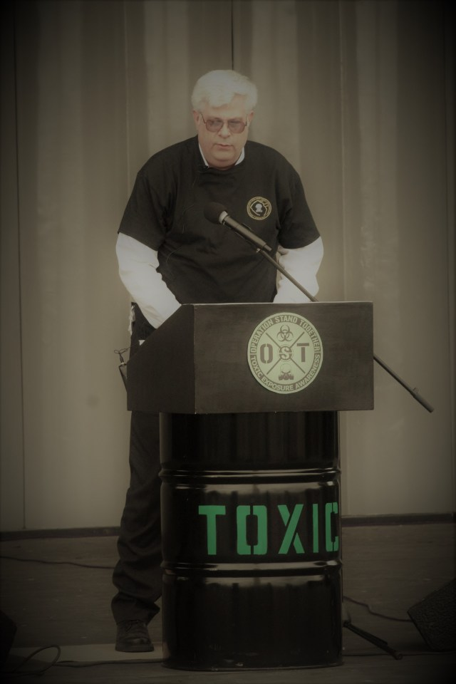5/20/17 Operation Stand Together Sylvan Theater National Mall Washington DC D.C. Atomic Cleanup Vets Veterans Keith Kiefer