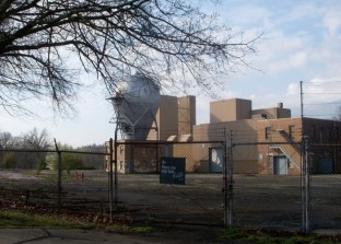 A view of the Westinghouse atom smasher site, April 2009. © Marni Blake Walter.