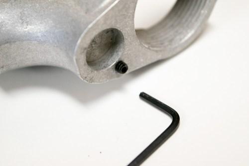 Captured take down pin spring/detent Enhanced