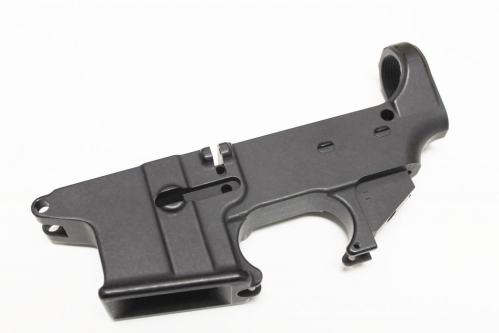 Black 9mm Dedicated 80% Lower