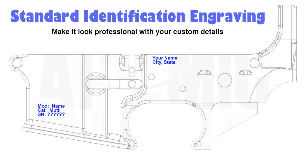 80% AR Identification Engraving (Mail In Service) - Atomic Engraving -  Custom Laser Engraving Services
