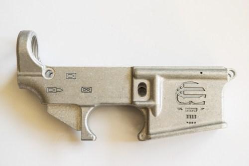 Custom Punisher engraved AR15
