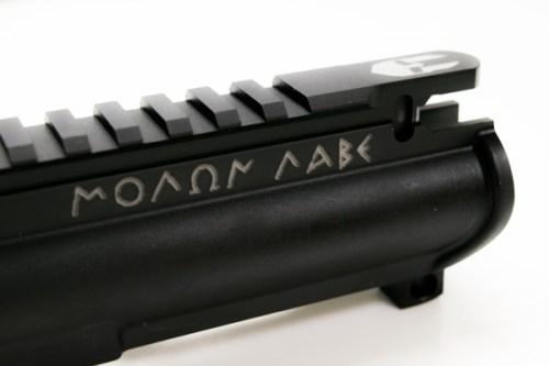 Forged Custom AR15 Upper Receiver Molon Lane
