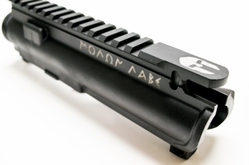 Molon Labe Deep Engraved upper Receiver for AR15