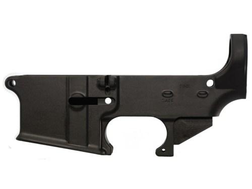 AR15 80% Lower Black Anodized
