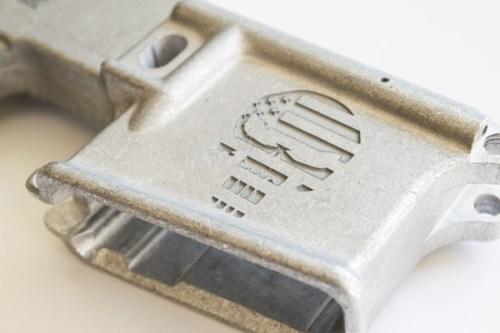 80% AR15 Laser Engraved Punisher