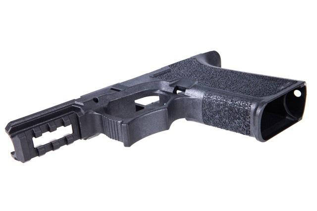 80% PF940C Glock 19/23 Pistol Frame with Free Identification ...