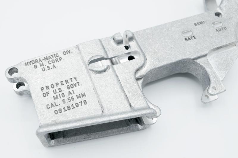 AR15 80% Forged Lower – Clone GM Hydra-Matic Replica Vietnam Era - Atomic  Engraving - Custom Laser Engraving Services
