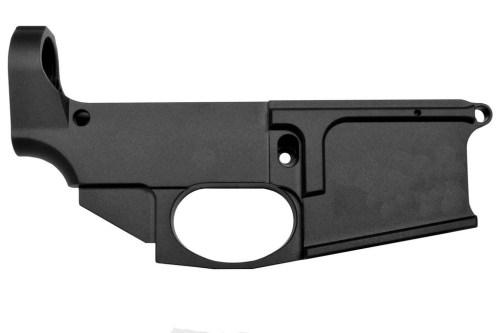 Noreen Firearms 80% Billet Lower Black Anodized