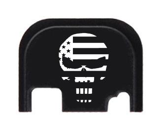 All American Engraved Punisher Logo Engraving