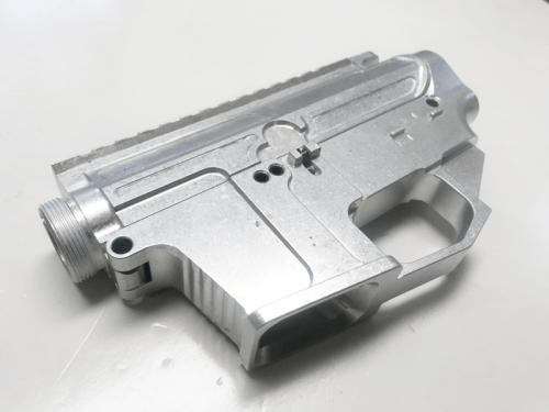 Raw Billet Glock AR15 complete receiver set
