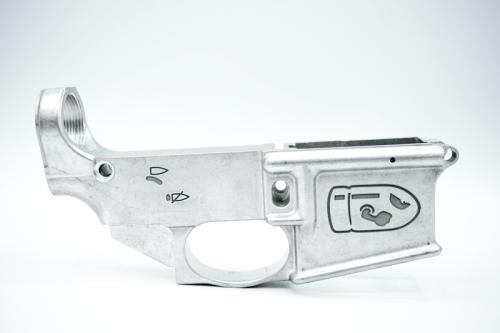 Engraved Bullet Bill AR15 80%