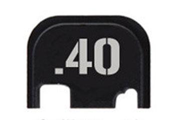 40 cal glock slide end plate
