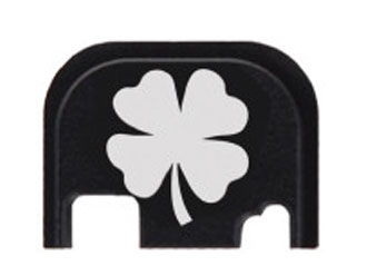4 leaf clover glock slide end plate