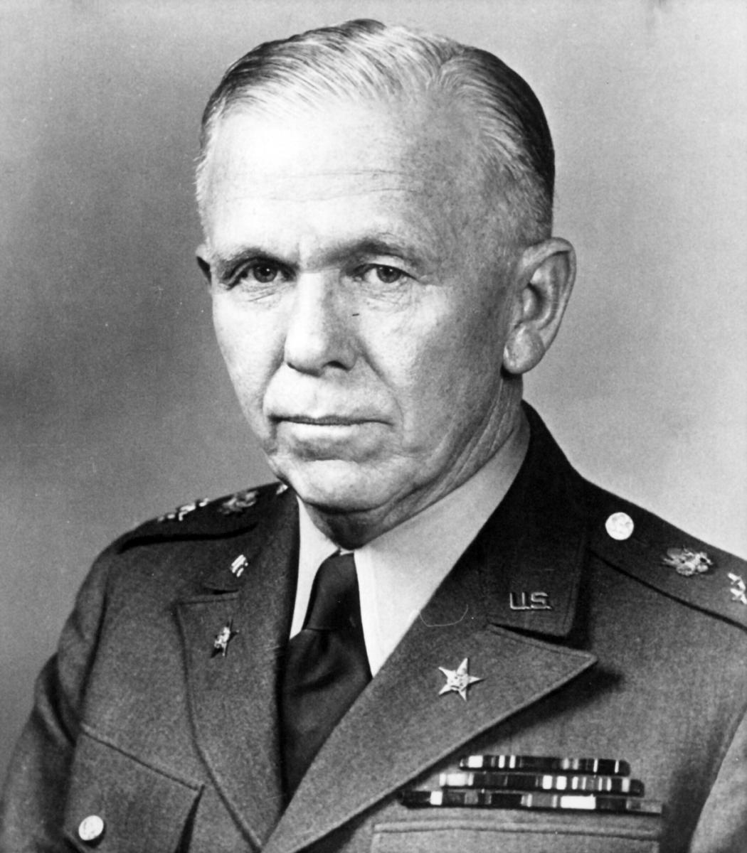 Gen. George Marshall, Former Secretary of Defense