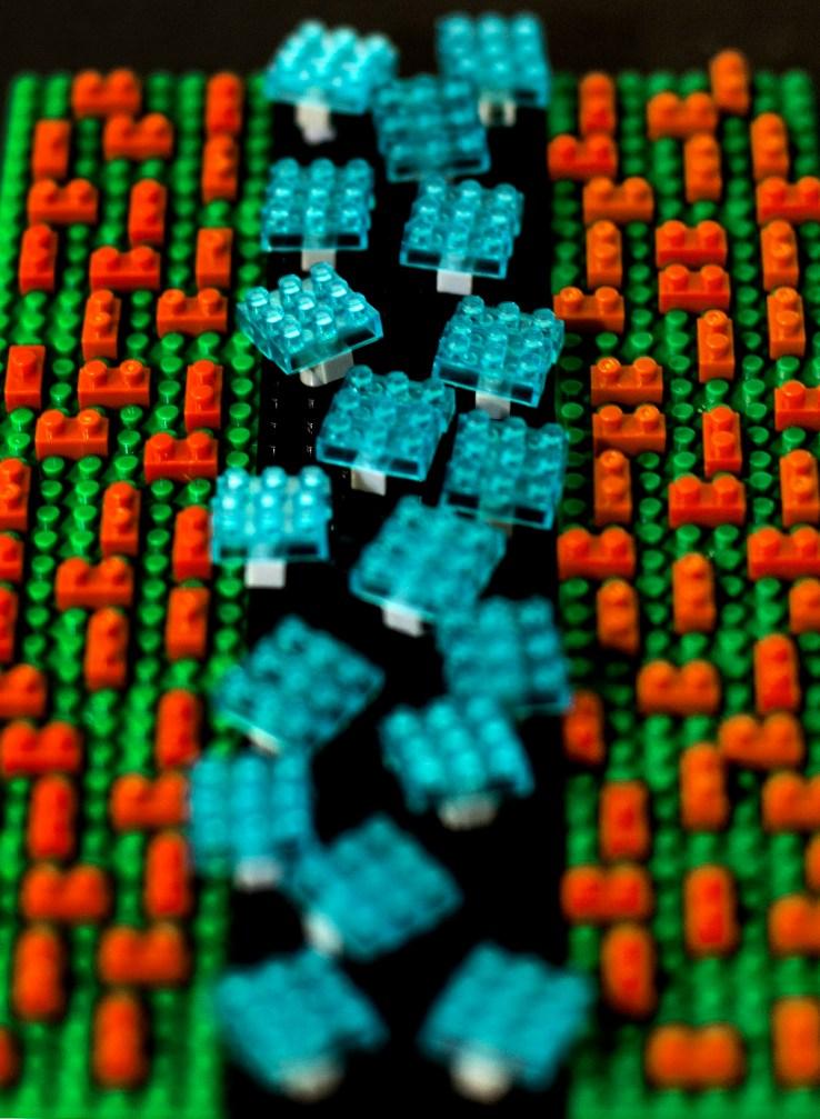 Lego: area-selective ALD