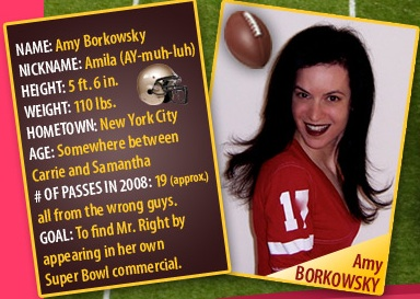 Super Bowl Single Girl